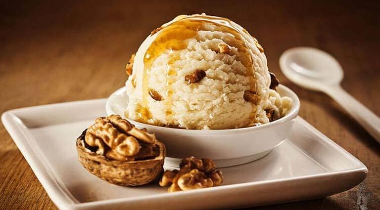 Shree Satyanarayan Ice Cream Background