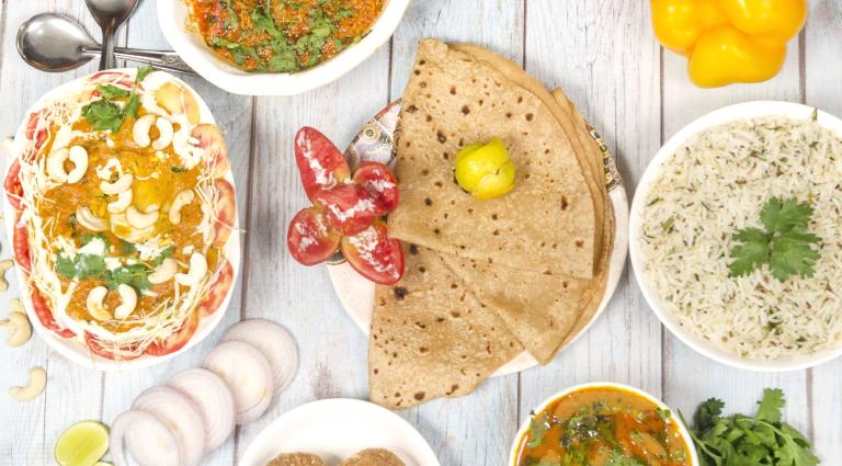 Punjabi Spices Background