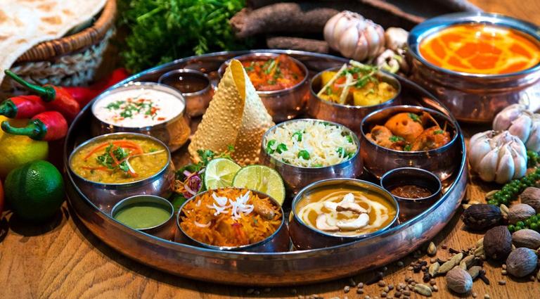 Annapurna Restaurant Background