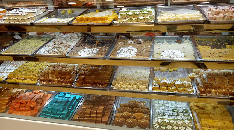 Ambica Farsan, Sweets and Bakery Background