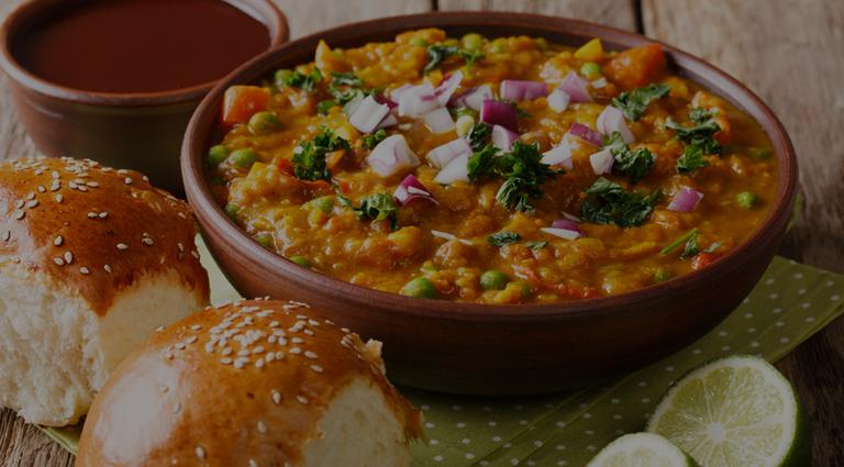 Shree Hari Om Fast Food Background