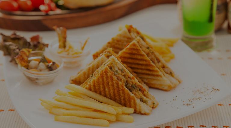 Ganesh Sandwich Corner Background