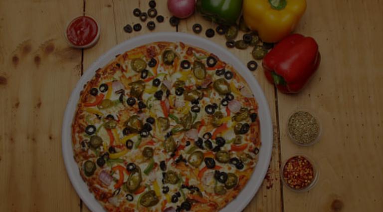 Stone Baked Pizza Background