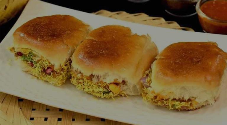 Kachhi Dabeli and Fast Food Background