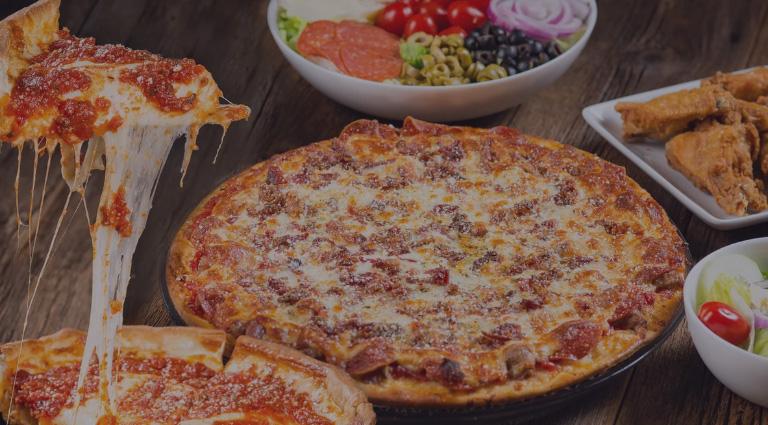 Laziz Pizza Background