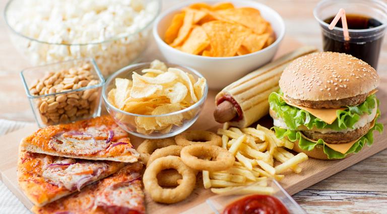 Gayatri Bhajipav & Fast Food Background