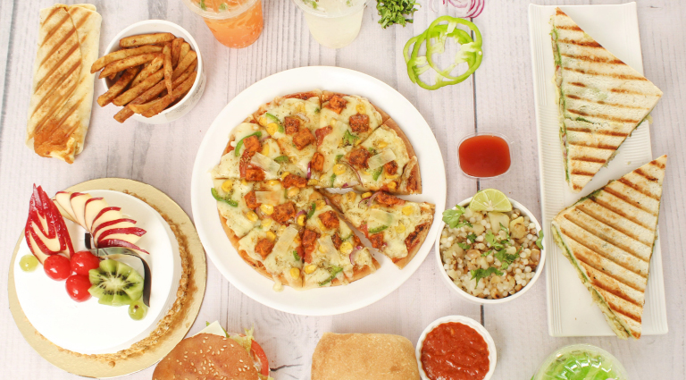 Samrat Snacks Parlour Background