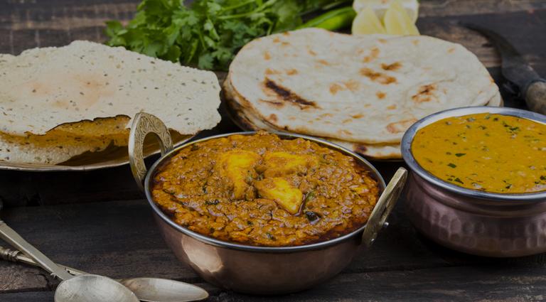 Kaka ni Bhaji Pav & Fast Food Background