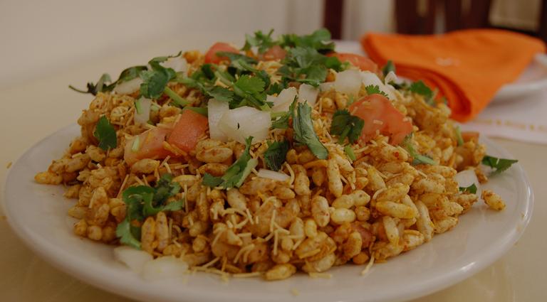 Bombay Bhel & Sandwich Background