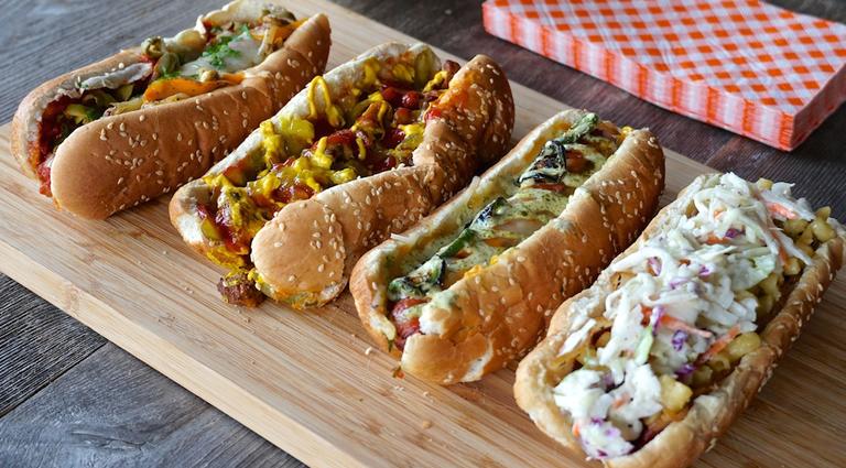 Super Johny Hot Dog Background