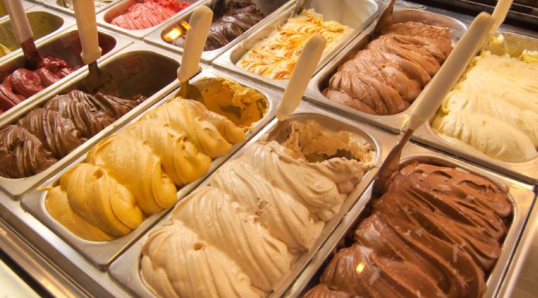 Mahalaxmi Ice Cream Background