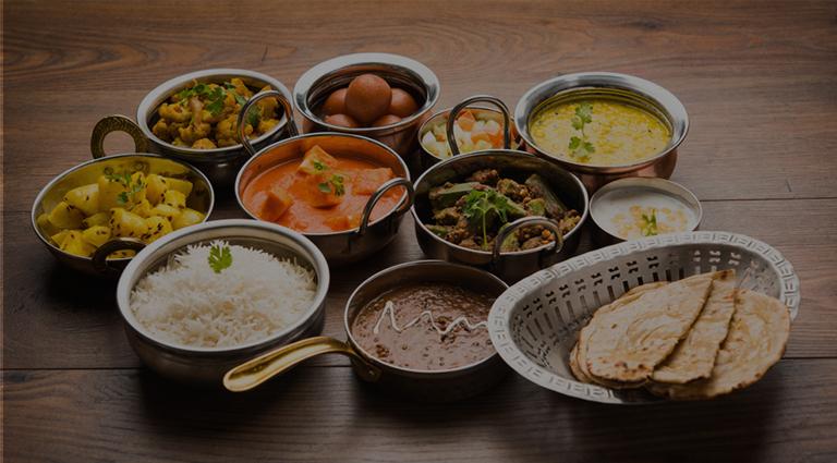 Om Food Center Background