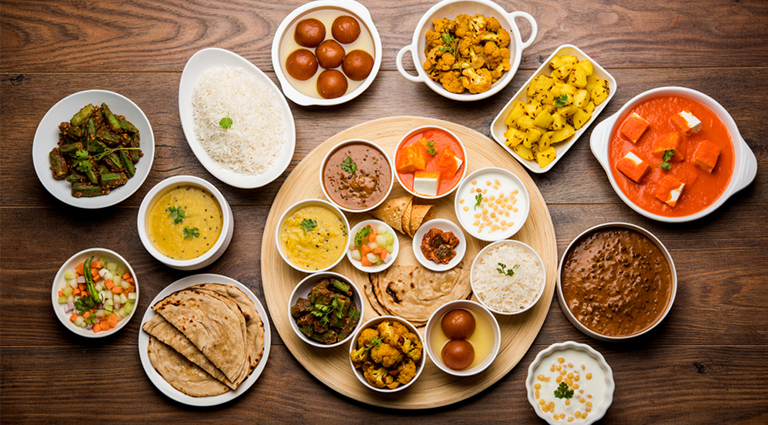 Super Bhajipav & Fast Food Background