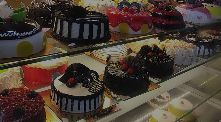 Homemade Cake Background