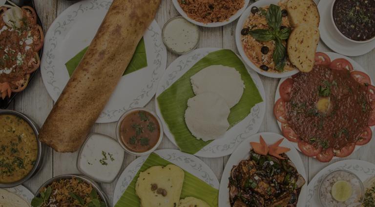 Dawat Pure Veg Restaurant Background