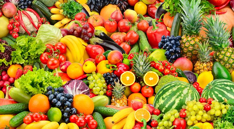 Arunam Vegetables And Fruits Background