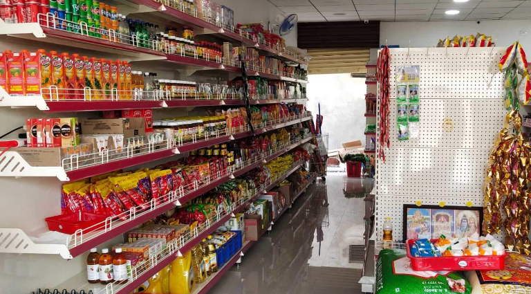 Gokul Grocery Store Background