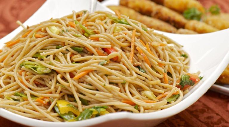 Ravi Chinese Food Background