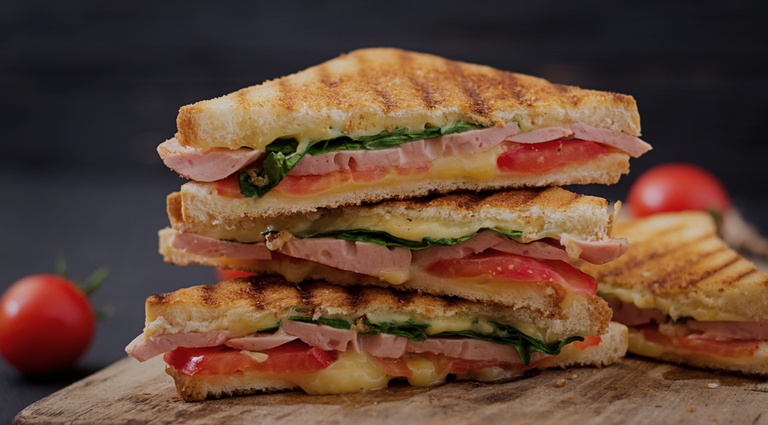 R Sizzling Sandwich Background