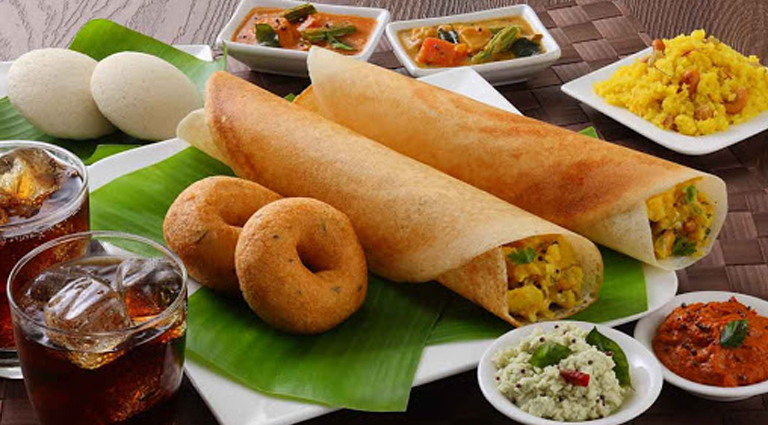 Indian Fast Food Background