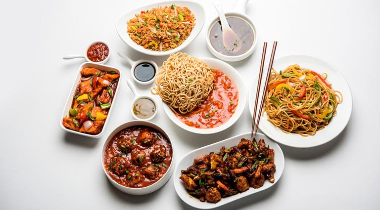 Badri Chinese and Fast Food Corner Background