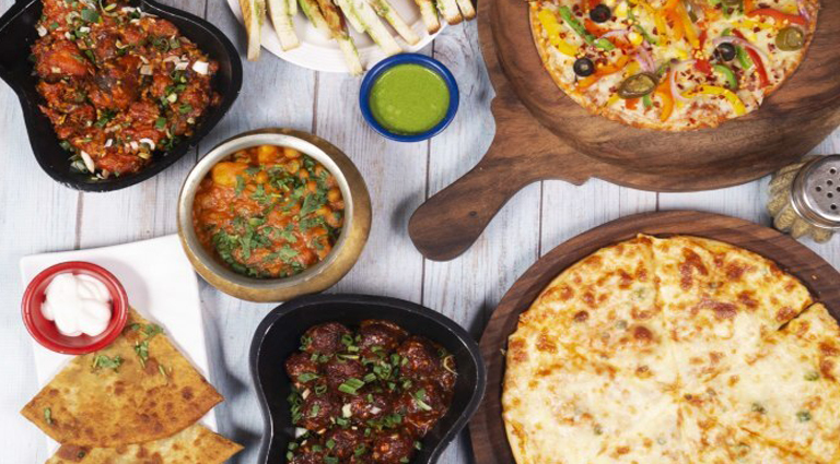 Old Dwarka Pure Vegetarian Family Restaurant Background