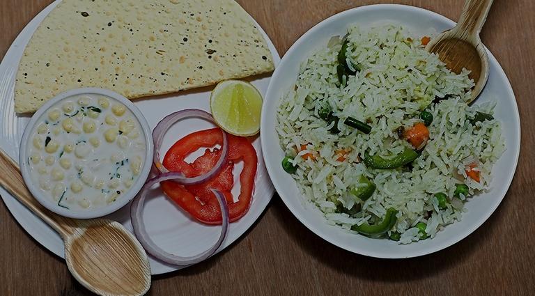 Curry Tadka Background