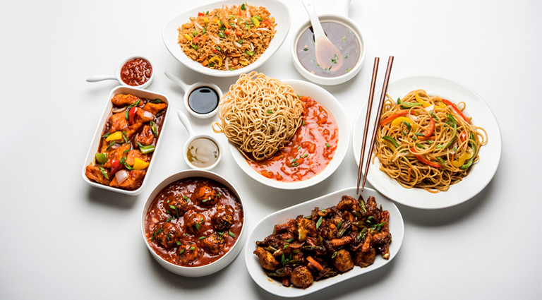 Chinese In Ahmedabad Background