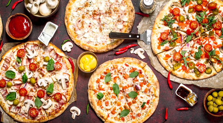 Pizza Crust Background