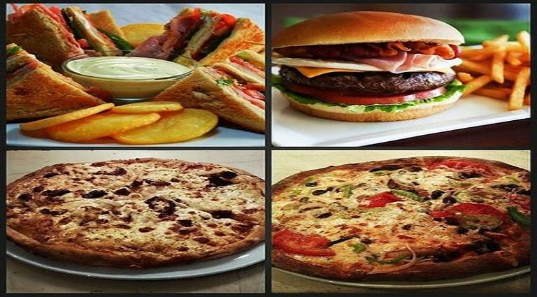 Pizza Corner Background
