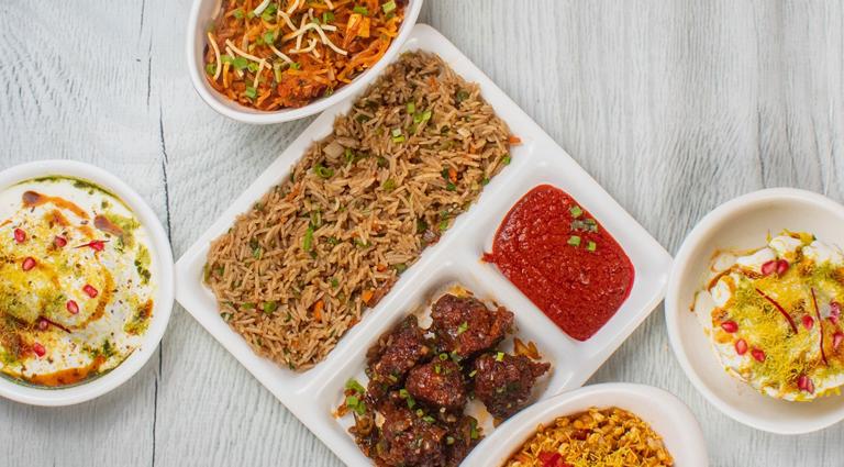 Chinese Bites Background
