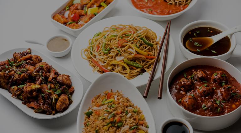 China Royal Restaurant Background