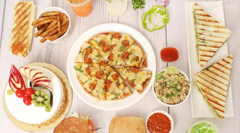 Shyamal Food Court Background
