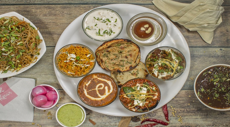 The Paratha Place Background