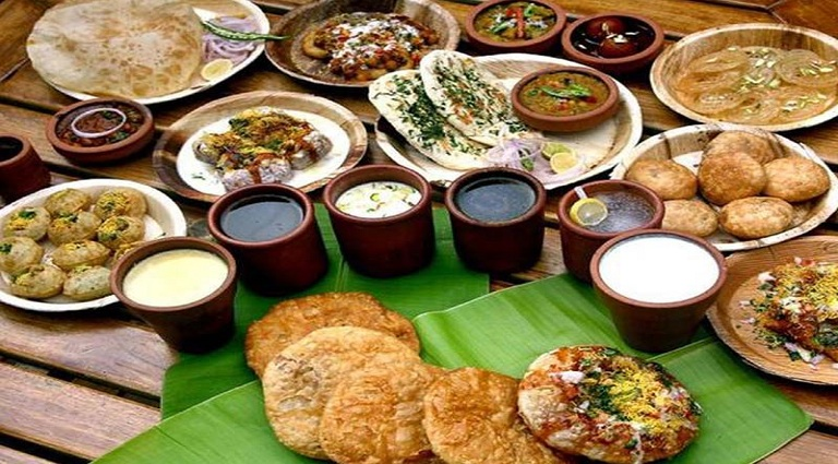 Karnavati Food Point Background