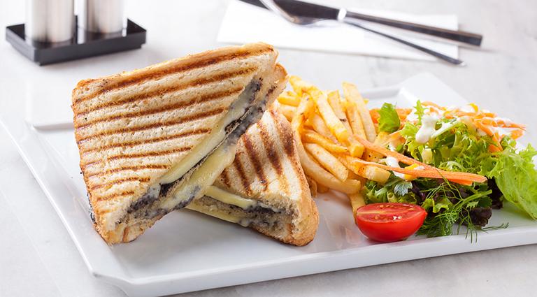 Yummy Sandwich & Foods Background