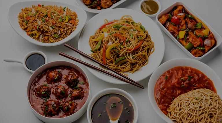 Maurya Chinese Restaurant Background