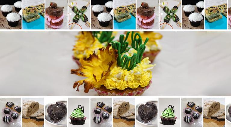 Little Cupcake Shop Background