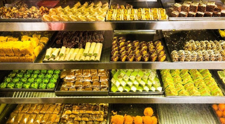 Taj  Sweets Background