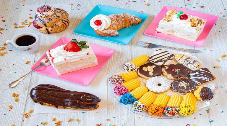 Italian Bakery and Cake Background
