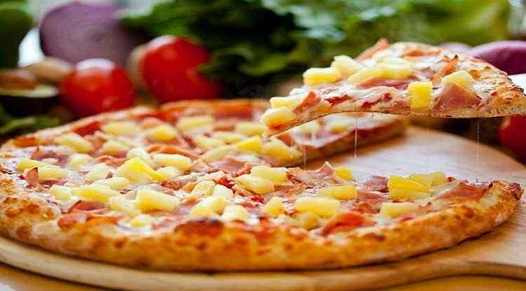 NY Pizza Background