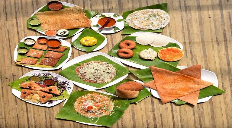 Café Om Sai Pure Veg Background