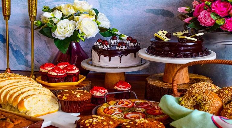 New India Bakery Background