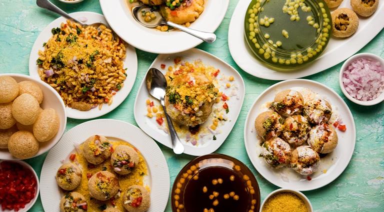 Crazy Foods Background