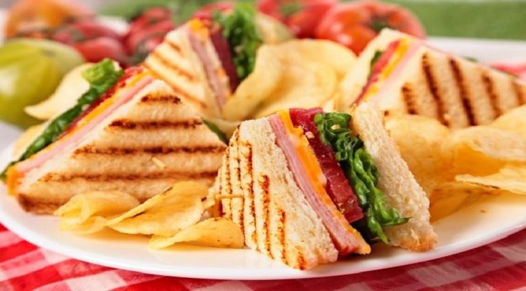 Taste Fast Food Background