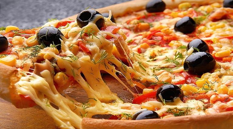 Pizza-Holic Background