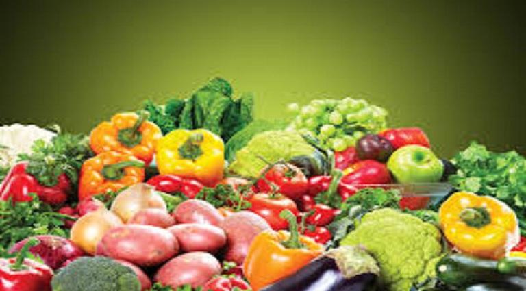 Juice Mantra Fruits and Vegetables Background