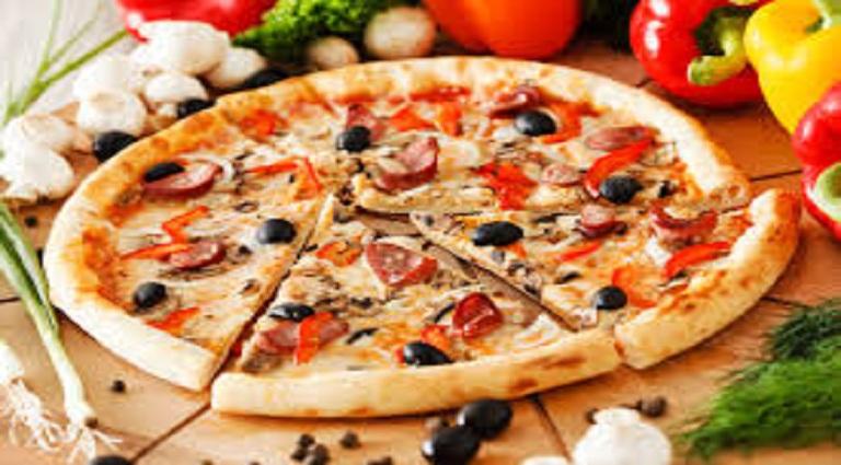Supreme Pizza Kitchen Background