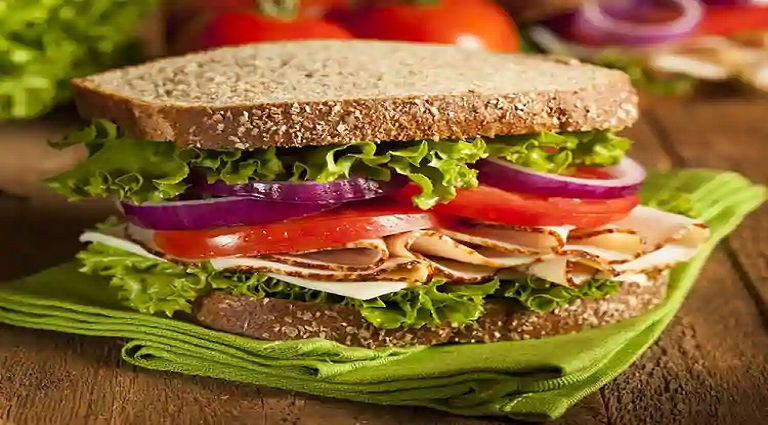 PJ'S Pizza & Sandwich Background