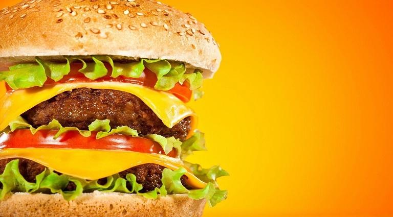 Raja Burger Background